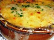Soupe l'oignon Carabazada fiorentina.