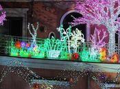 Luci d'artista salerno festività natalizie.
