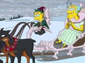 Simpson omaggiano Frozen della Disney