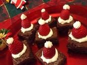 Cappellini Babbo Natale brownies (Santa Claus' Christmas brownies)