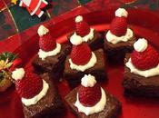 Cappellini Babbo Natale brownies (Santa Claus' Christmas brownies)