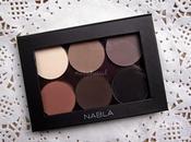 Nabla cosmetics soft matte christmas palette