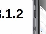 Apple rilascia nuovo aggiornamento 8.1.2