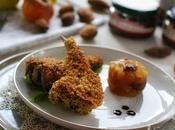 Costolette agnello della Marca alle mandorle chutney espresso mele caramellata piace Ficotto