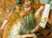 Schema punto croce: Fanciulle piano Renoir