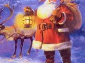 Schema punto croce: Babbo Natale renna lanterna