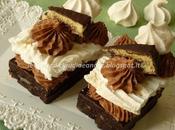 Mini tortini meringa, crema Dolcetto Dark Freddi