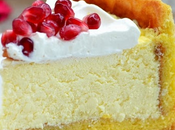 Cheesecake mascarpone, amaretto melograno