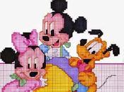 Entra mondo Disney Punto Croce