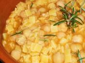 Minestra pasta ceci alla toscana