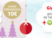 Vodafone Christmas Card: euro Mesi Internet Spotify