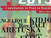 piazza Duomo capodanno 2015 Milano.