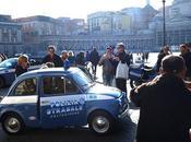 Napoli vecchia Fiat della Polizia Stradale Presepe