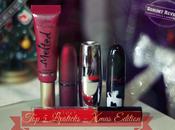 LIPSTICKS XMAS EDITION [tag Fashion Axelle Miss Tinguette]
