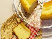 Ciambellone olio limone, senza burro, fornetto Versilia