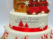 Gingerbread Cookies Cake