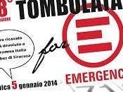 Siracusa: tombolata Emergency grande successo, musica solidarietà all' Antico Mercato