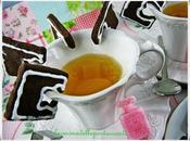 Biscottini cioccolato lavanda Biscuits with chocolate lavender