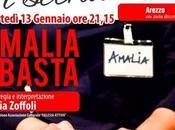 AREZZO: AMALIA BASTA Silvia Zoffoli Rassegna Salute Scena Teatro Pietro Aretino