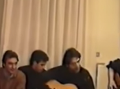 "Video. casa Ciro Ferrara, Pino Daniele canta pazzo"" Maradona Careca"