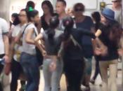 Ladrocinio capitale: metropolitana roma completamente mano bande criminali minorenni rom! testimonianza precisa puntuale ogni giorno assiste questa vergogna