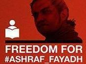Libertà poeta palestinese Ashraf Fayadh carcere Arabia Saudita anno