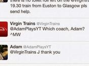 Quando marca vicina momento bisognino :-)) Virgin Train