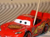 """Compleanno Edoardo """"Cars"""" Bandierine Scacchi Panini."""
