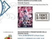 """fronte fronte"""", mostra presentazione nuovo graphic novel Paolo Cossi"""