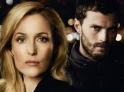 Fall: Gillian Anderson Colin Morgan danno caccia Jamie Dornan