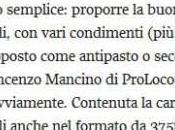 """Corriere della Sera: notizie """"gustose"""" accompagnano un'ottima selezione origine laziale"""", Proloco"""