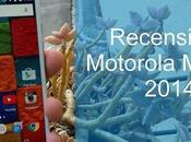 Motorola Moto 2014 recensione dello smartphone Bamboo