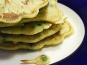 pancakes salati piselli