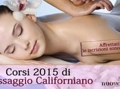 Corsi Massaggio Californiano Bari 2015