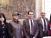 PAVIA. Cucinotta Schwarzenegger film girato Pavia.