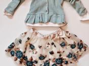 Vestiti bambini. gonnellina romantica