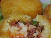 Sicilian Street Food: arancini. ricetta realizzarli casa