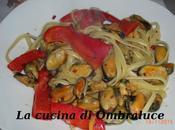 Linguine cozze peperoni