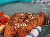 Sabato, giorno speciale Salmone salsa soia tortino carote ricotta pecora