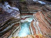 canyon Brent l'Art: lavoro millenario delle acque Valbelluna