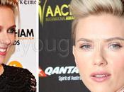 Nuovo look Scarlett Johansson: pixie ciuffo