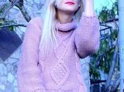 maglione rosa caldissimo