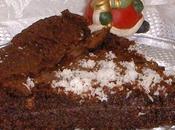 Foundant chocolat noir avec noix coco