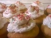 Un'incontro mela mandarino,in muffin soffice ricoperto meringa all'italiana deliziosa!