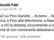"Niccolò Fabi ""Pino bene Napoli, detesta…"