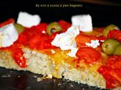 Pizza soffice teglia lievito madre