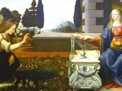 Schemi punto croce: L'Annunciazione Leonardo Vinci