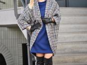 Outfit blue dress coat