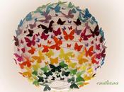 Lampadario farfalle cuori parete