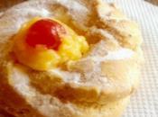 Mini Paris-Breste alla crema pasticcera